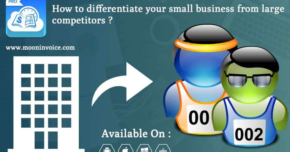 Small Businesses Give Competition Large Competitors