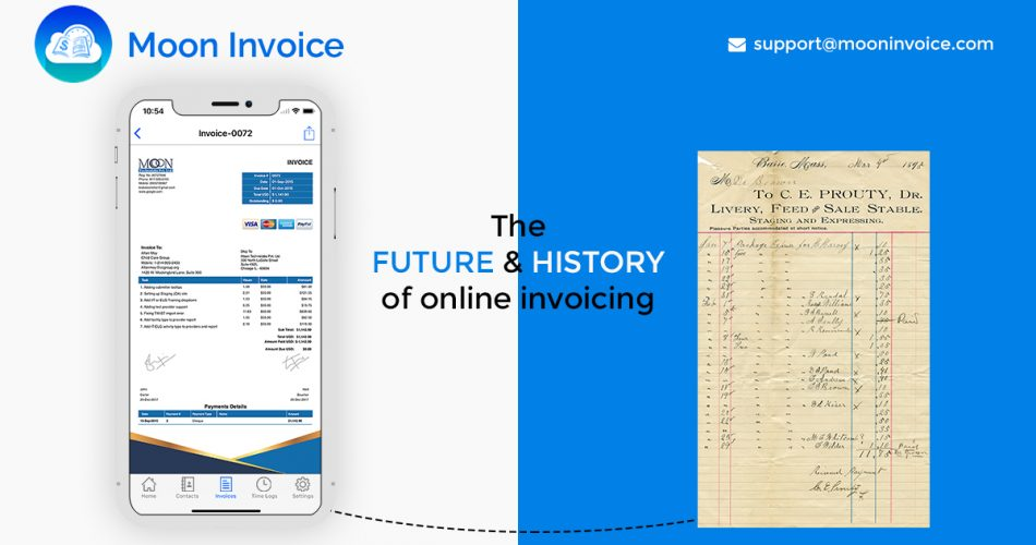 The History and Future of Online Invoice