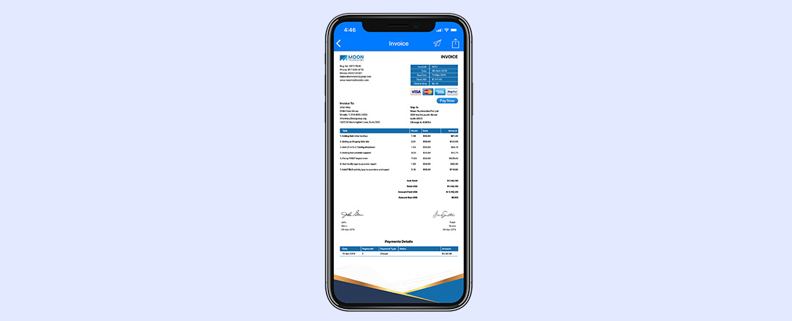 Future of Invoicing - Moon Invoice