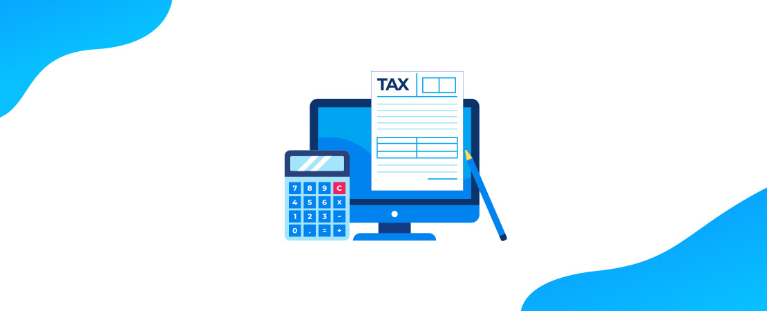 Easy Tax Calculation - Moon Invoice