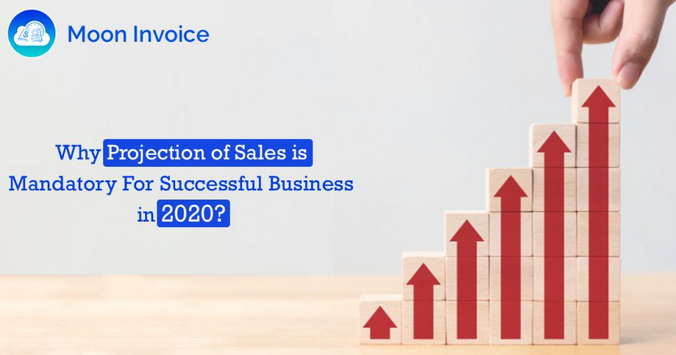 Projection of Sales in 2020