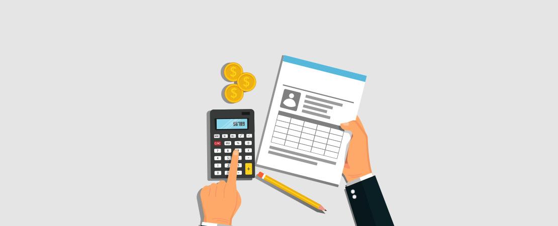 Top-down estimation - Moon Invoice