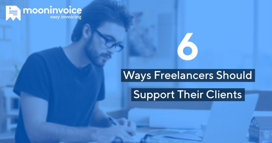 how freelancers support their clients