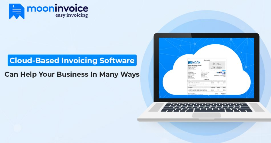 cloud based invoicing app