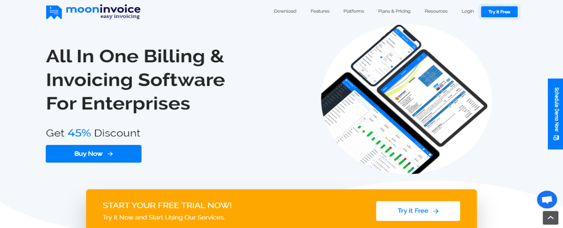free invoice and billing software for Mac - Moon Invoice