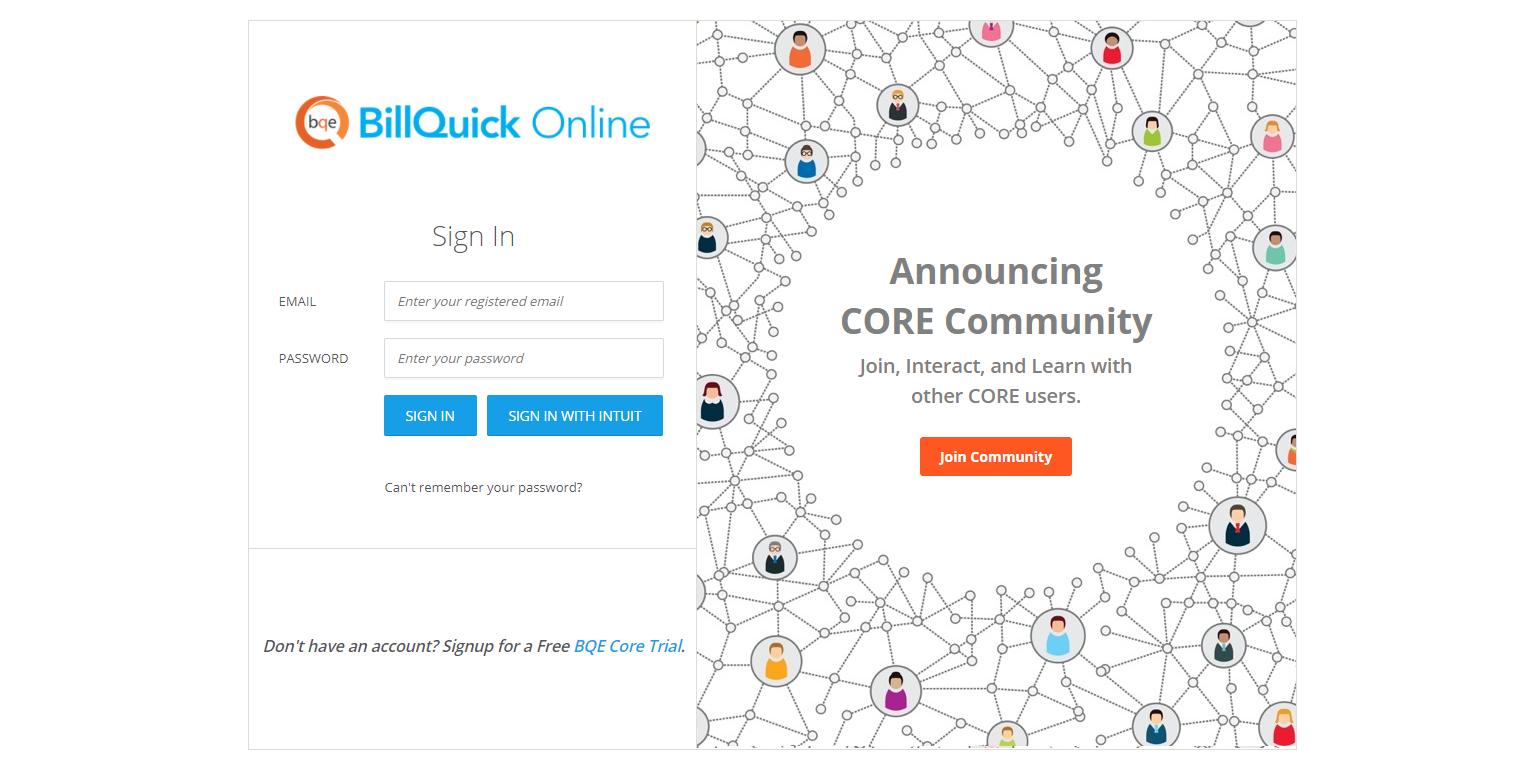 BillQuick Online