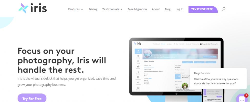 Iris - Moon Invoice
