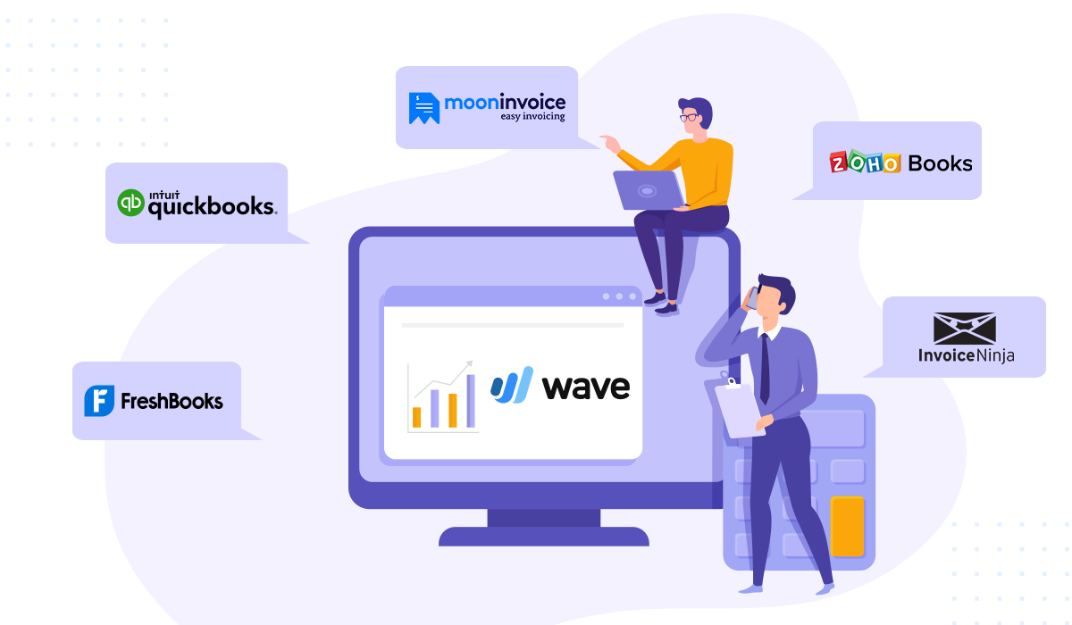 5 Best Alternatives to Wave Accounting Software - Moon Invoice