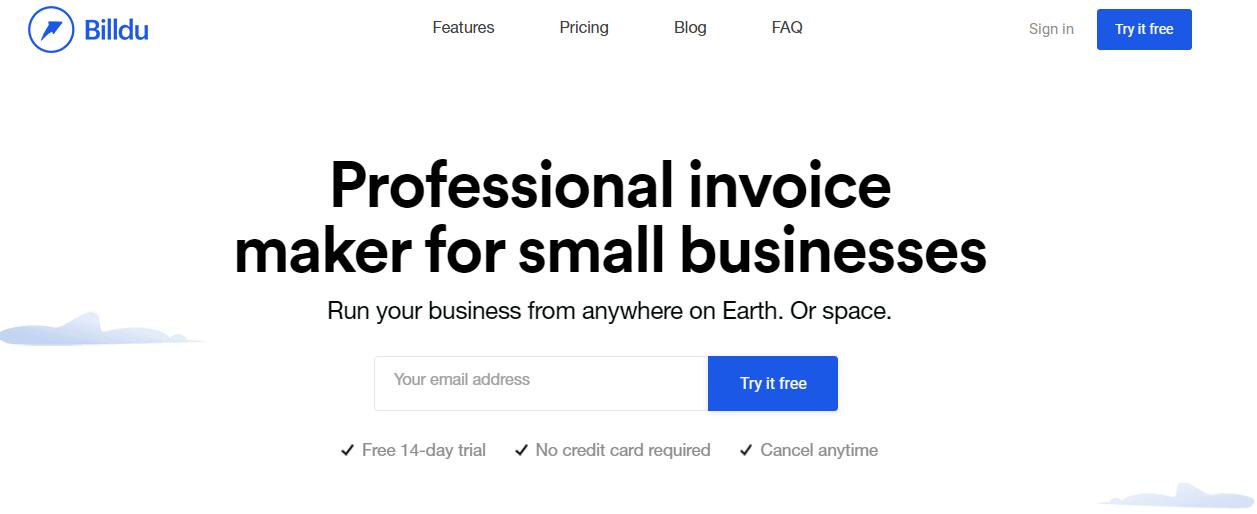 Billdu Invoice -Moon Invoice