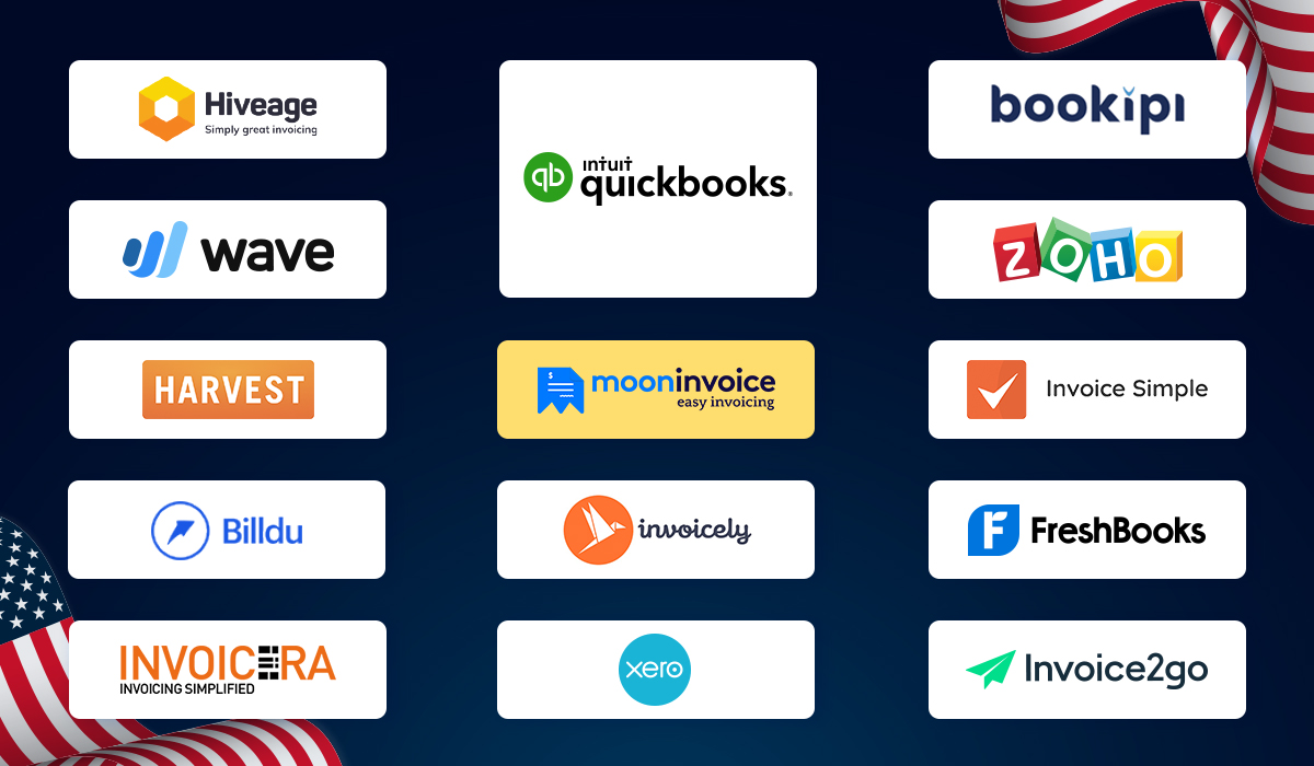 Top 13 Alternatives to QuickBooks in the US - Moon Invoice