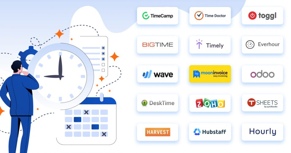 15 Time Tracking Software for Small Businesses - Moon Invoice