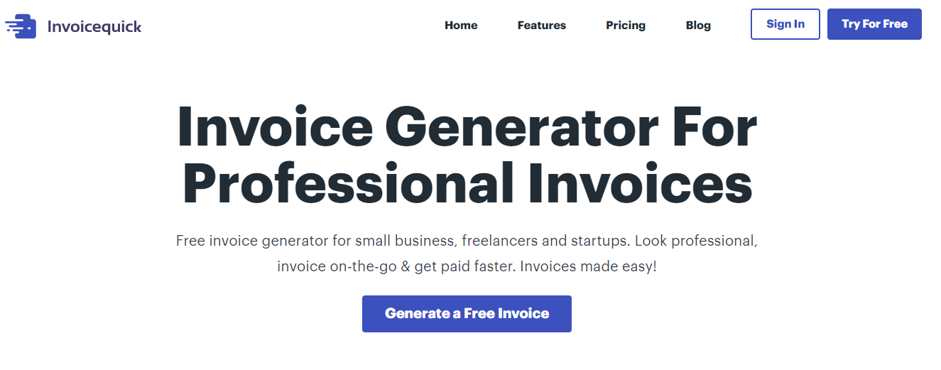 InvoiceQuick Alternatives - Moon Invoice