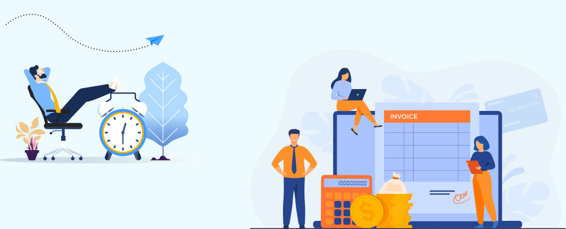 online billing software for enterprises with less time - Moon Invoice