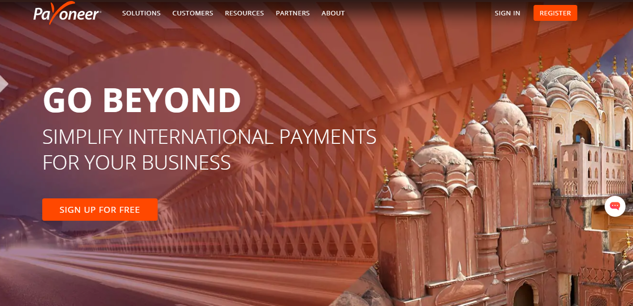 Payoneer Payment - Moon Invoice