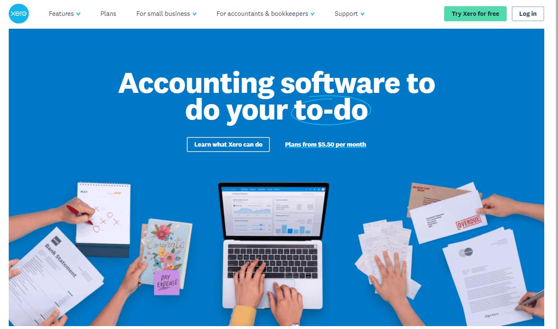 Accounting Software alternative to Xero - Moon Invoice