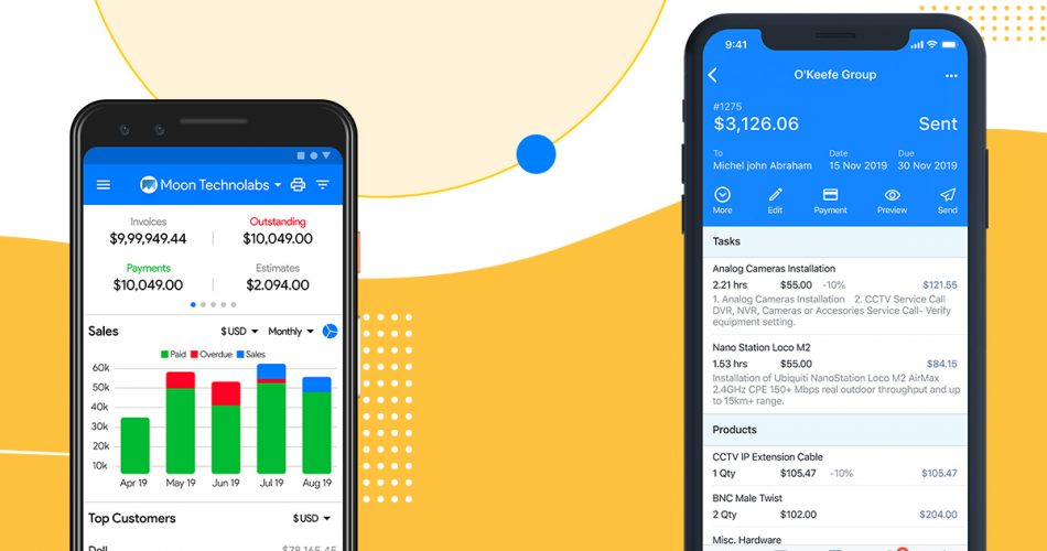 Why Moon Invoice is the #1 IiPhone and Android Invoicing App