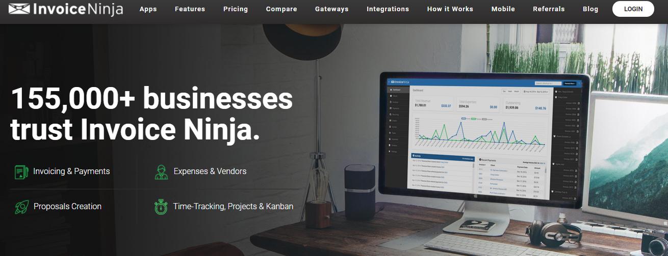 Invoice Ninja - Business accounting software Alternative