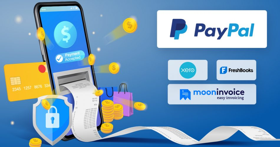 PayPal in Online Accounting Better, Faster, Stronger - Moon Invoice