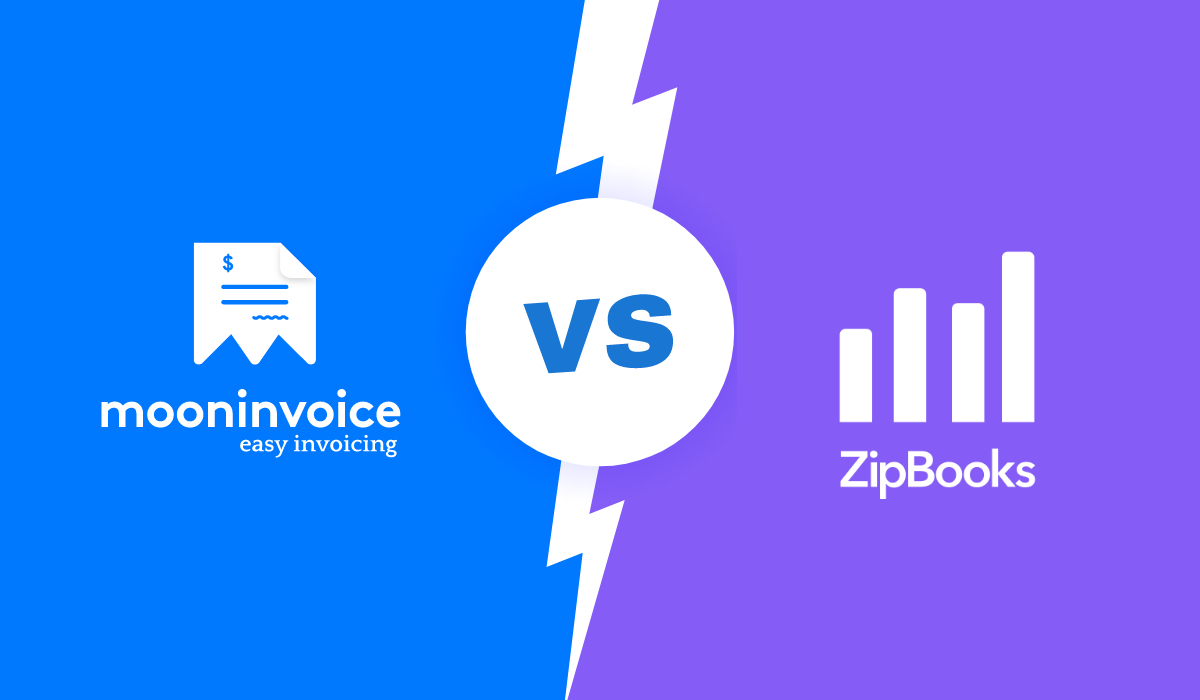 Let's Catch All The Details B-W- Moon Invoice VS ZipBooks