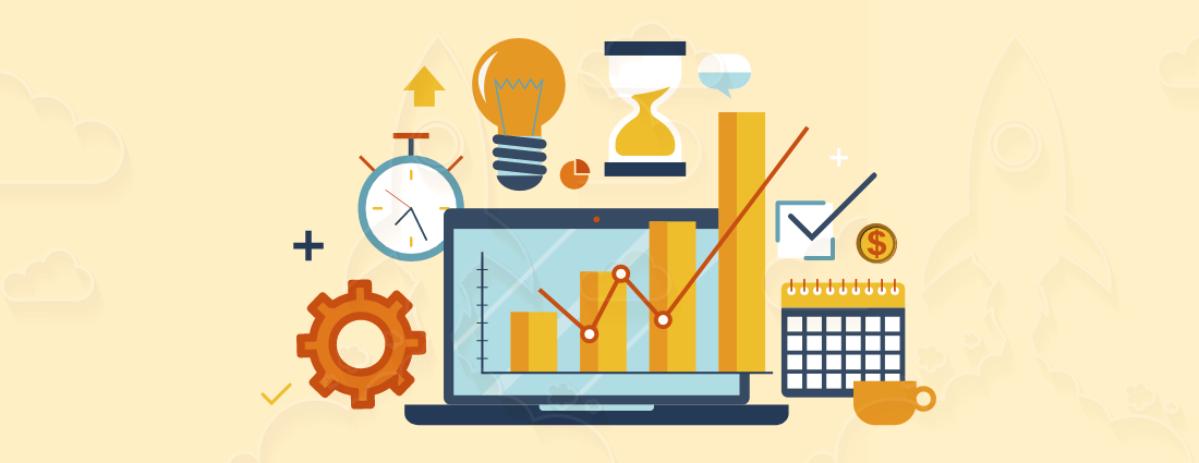The productivity increases using online billing software