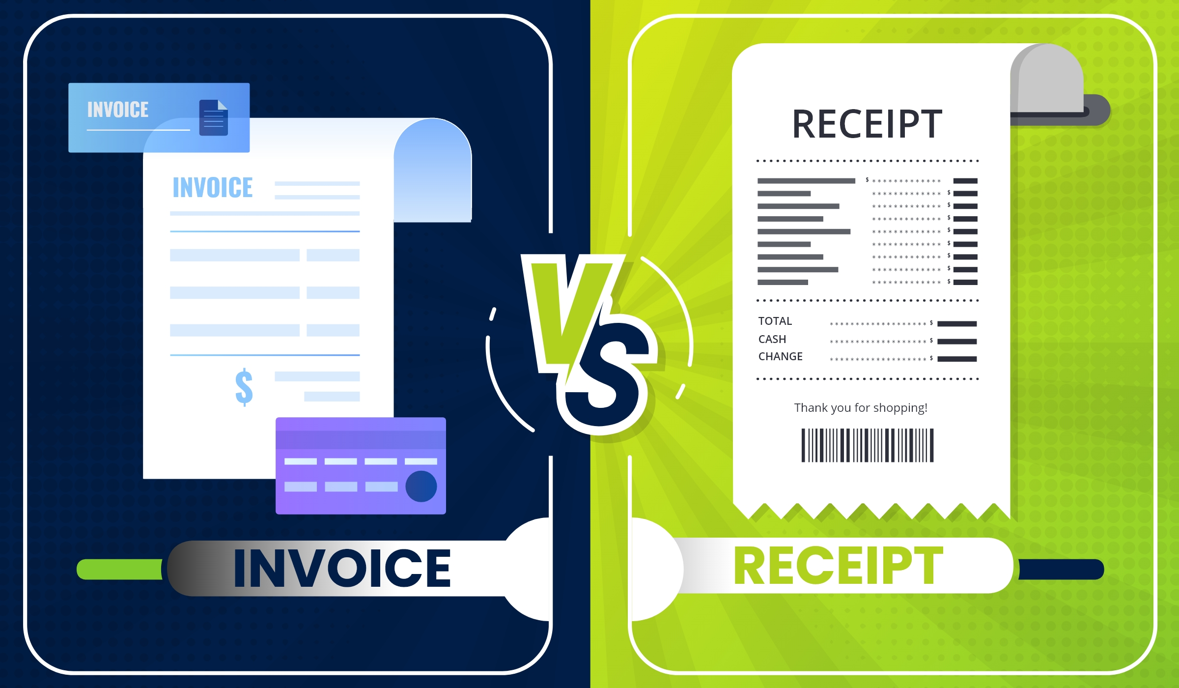 What is the Difference Between a Receipt and an Invoice