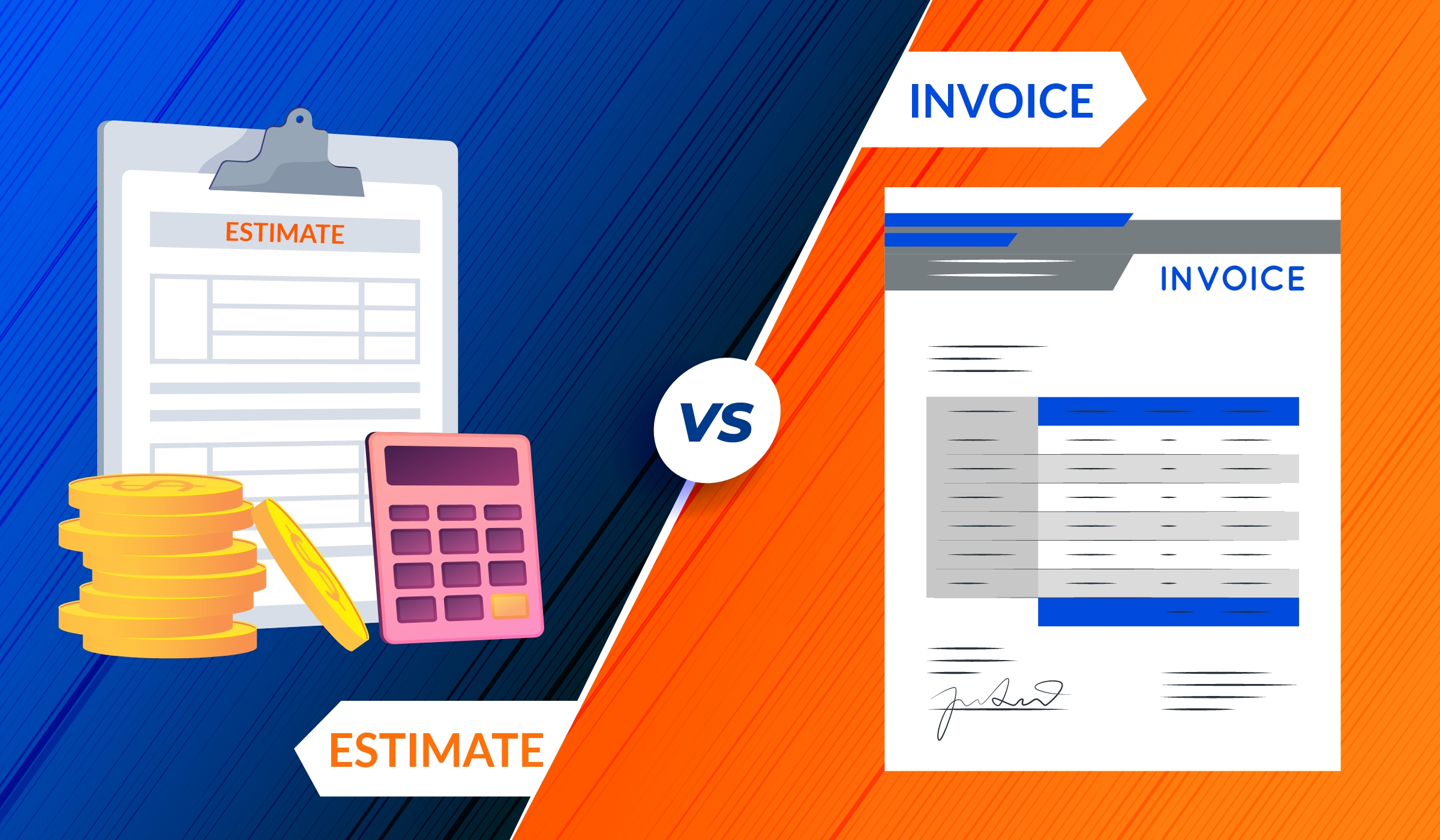 Invoice Vs. Estimate What's the Basic Difference